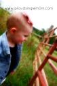 Hmmm I wonder if I can crawl through the fence.... lol